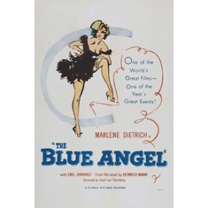 Blue Angel Movie mini poster 11x17 #01