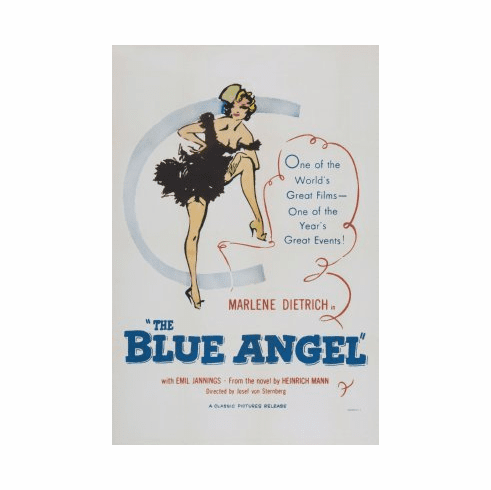 Blue Angel Movie Poster 24x36 #01
