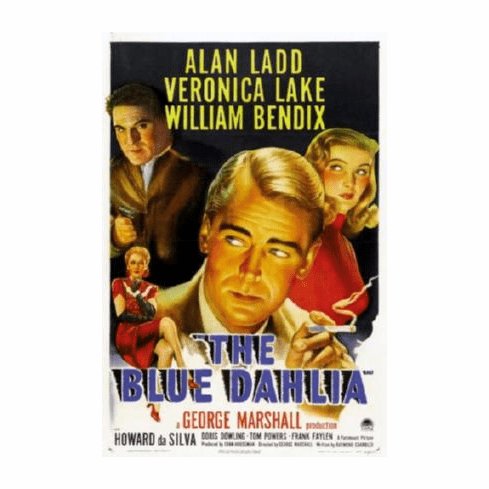 Blue Dahlia The Movie Poster 24inx36in