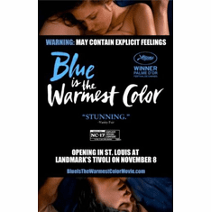 Blue Is The Warmest Color 11inx17in Mini Poster