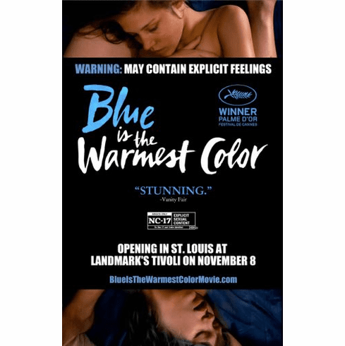 Blue Is The Warmest Color Movie poster 24inx36in Poster