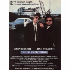 Blues Brothers, The Movie 8x10 photo Master Print