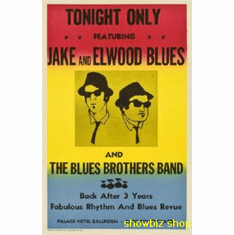 Blues Brothers, The Movie Poster 11x17 Mini Poster