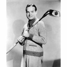 "Bob Hope Black and White Poster 24""x36"""