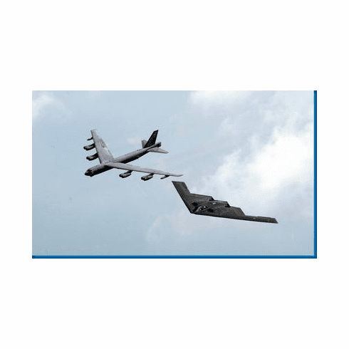 Bombers Stealth Bomber B52 Military Aircraft Poster 24inx36in