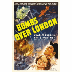 Bombs Over London Movie Mini poster 11inx17in