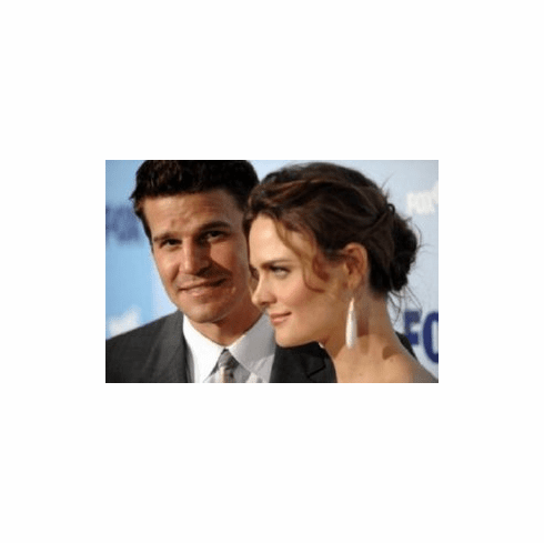 Bones Emily Deschanel David Boreanaz 8x10 photo master print