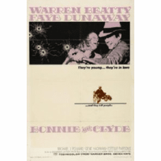 Bonnie And Clyde Movie 8x10 photo Master Print #01