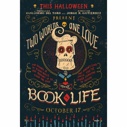 Book Of Life The Movie poster 24inx36in Poster
