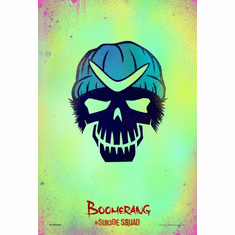 Boomerang Suicide Squad poster Character Icon Mini Poster 11x17