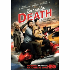 Bored To Death Mini Movie Poster 11inx17in