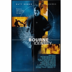 Bourne Identity The Mini #01 8x10 photo Master Print