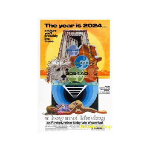 Boy And His Dog A Don Johnson Movie Poster 11x17 Mini Poster