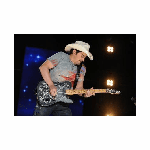 Brad Paisley Poster Guitar 24in x36 in