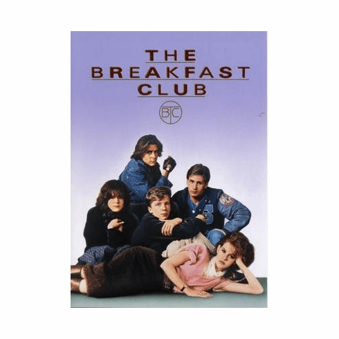 Breakfast Club, The Movie Poster 24in x36 in