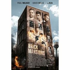 Brick Mansions Poster 11Inx17In Mini Poster