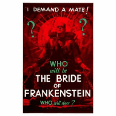 Bride Of Frankenstein Movie 11inx17in Mini Poster #01