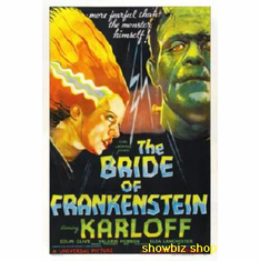 Bride Of Frankenstein Movie Poster 11x17 Mini Poster