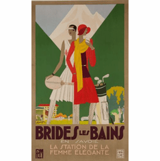 Brides Les Bains Poster 24in x36in