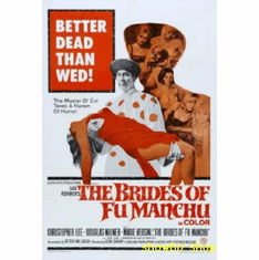 Brides Of Fu Manchu Movie Poster 11x17 Mini Poster