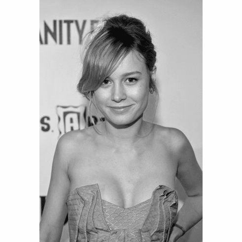 "Brie Larson Black and White Poster 24""x36"""