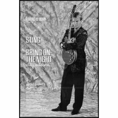 """Bring On The Night Black and White Poster 24""""x36"""""""