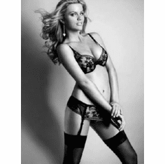 "Brooklyn Decker Black and White Poster 24""x36"""