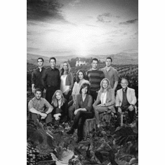 """Brothers And Sisters Black and White Poster 24""""x36"""""""