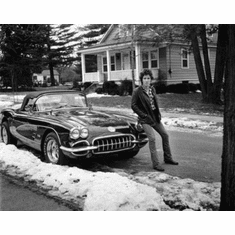 "Bruce Springsteen Black and White Poster 24""x36"""