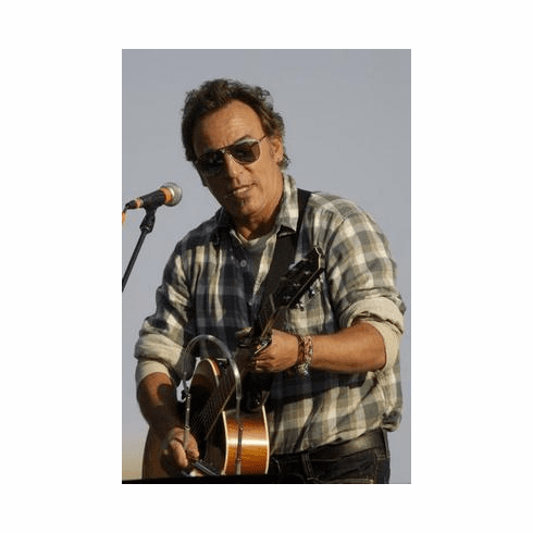Bruce Springsteen Poster Guitar 24in x36 in