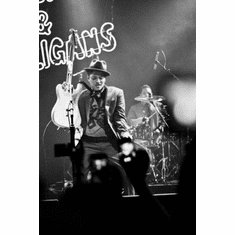 "Bruno Mars Black and White Poster 24""x36"""