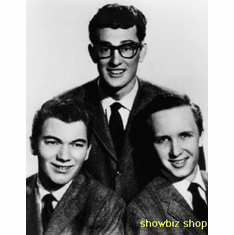 Buddy Holly Poster Bw W/ Crickets 24inx36in