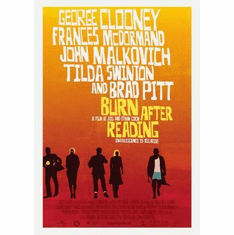 Burn After Reading Movie Poster 11x17 Mini Poster