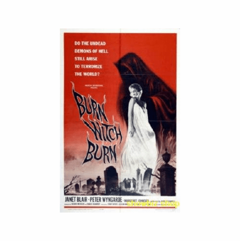 Burn Witch Burn Movie 8x10 photo Master Print