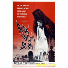 Burn Witch Burn Movie Poster 11x17 Mini Poster