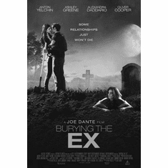 "Burying The Ex Black and White Poster 24""x36"""