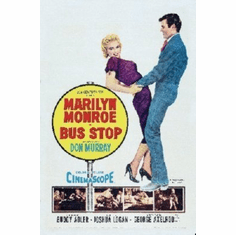 Bus Stop Mini Movie Poster 11x17 Marilyn Monroe