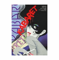 Cabaret Movie Poster Kabaret Foreign 8x10 photo