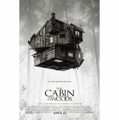 Cabin In The Woods Movie Poster 24x36