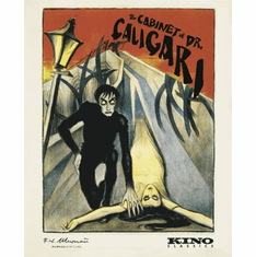 Cabinet Of Dr Caligari Movie Poster 11inx17in Mini Poster