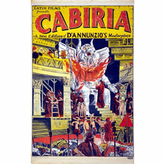 Cabiria Movie Poster 24inx36in Poster