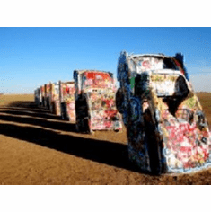 Cadillac Ranch 8x10 photo Master Print