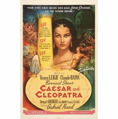 Caesar And Cleopatra Movie poster 24inx36in Poster