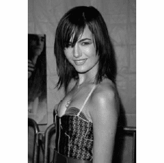 """Camilla Belle Black and White Poster 24""""x36"""""""