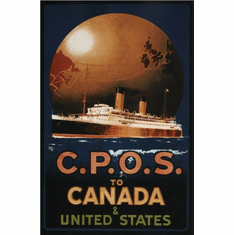 Canada Cpos 1920 Poster 24in x36in