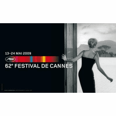 Cannes Festival Art Poster 2009 24in x36 in