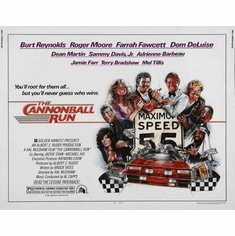 Cannonball Run Movie Poster 24in x36 in