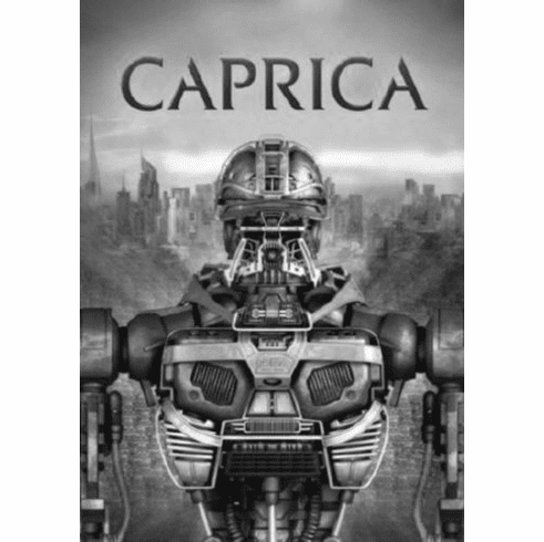 "Caprica Black and White Poster 24""x36"""