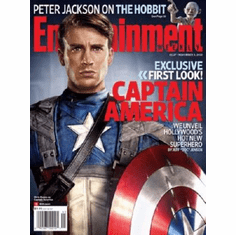 Captain America Poster Entertainment Weekly Cover 27inx36 in 24inx36in