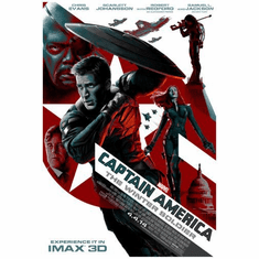 Captain America Winter Soldier Movie Mini poster 11inx17in